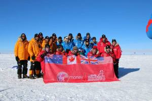 Wounded Warriors at the South Pole 2013