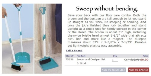 Broom & Dustpan