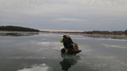 Out on the Ice